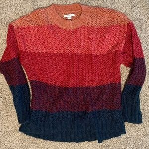 American Eagle Multi Colored Sweater (M)